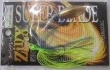 ジンクスミニ スーパーブレード 1/4oz #ZX-020 ブルーバックチャートG/G